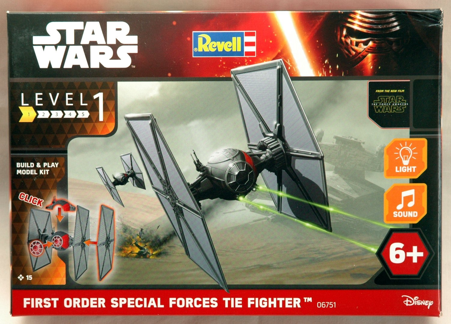 Star Wars First Order Tie Fighter Revell