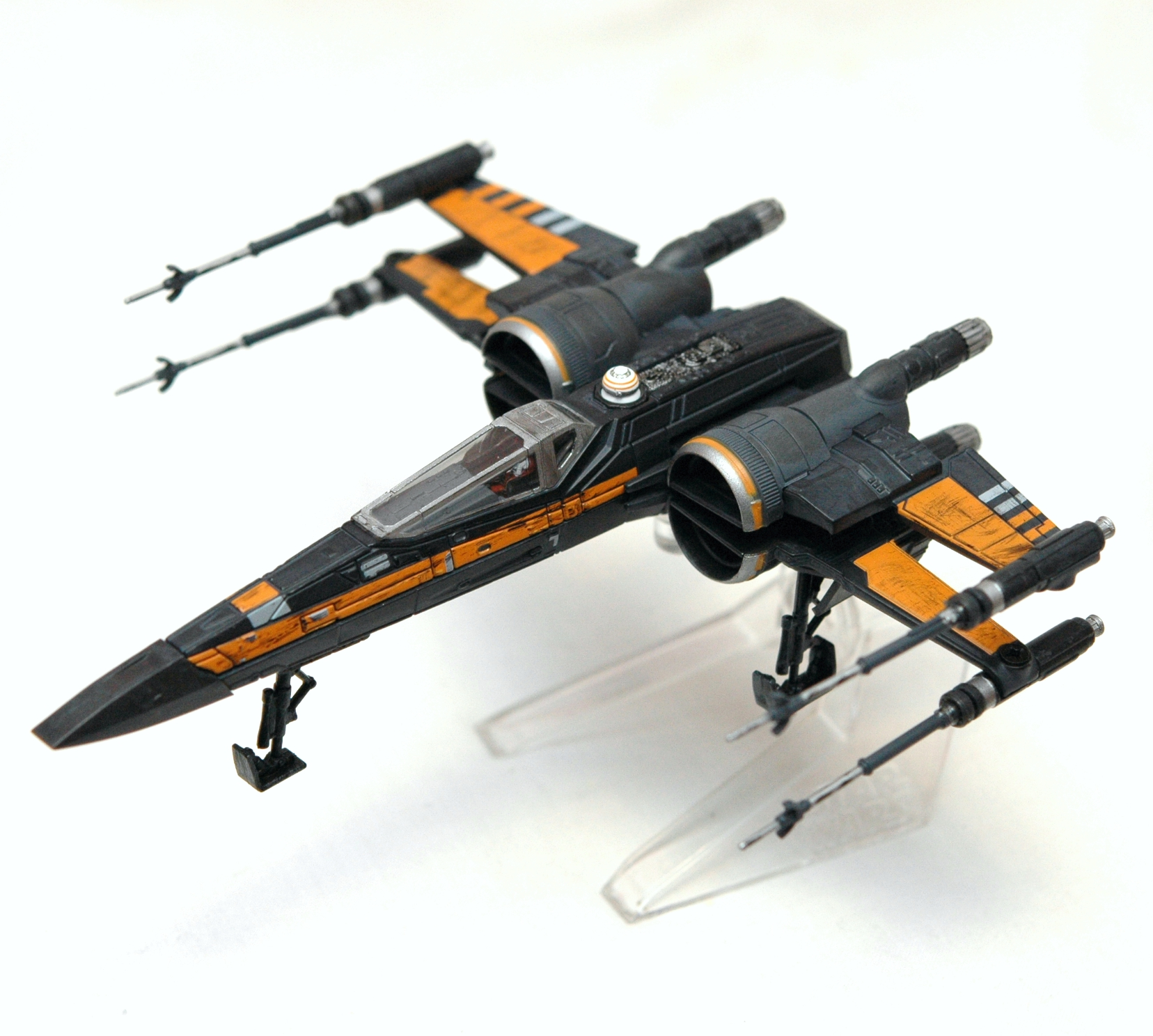 Hot Wheels elite Star Wars X-Wing fighter the force awakens