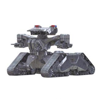 Terminator 2 Hunter Killer Tank Pegasus 9015